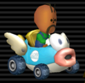 Cheep Charger from Mario Kart Wii