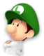 Icon of Dr. Baby Luigi from Dr. Mario World