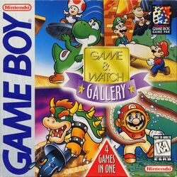 Boxart of Game & Watch Gallery.