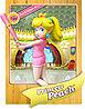 Level 1 Princess Peach card from the Mario Super Sluggers card game