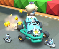 The icon of the Dry Bones Cup challenge from the Pirate Tour in Mario Kart Tour.