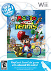 American box art of New Play Control! Mario Power Tennis