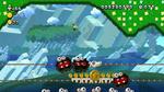 Screenshot of Spine Coaster Connections in New Super Luigi U.
