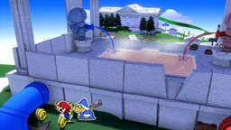 The Spring of Bliss in Paper Mario: The Origami King