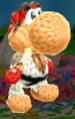 Ryu amiibo from Poochy & Yoshi's Woolly World