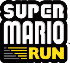 Final logo for Super Mario Run