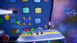 Under Siege, the second level of Hidden Hills in Yoshi's Crafted World.