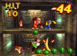 Krazy Kong Klamor in the game Donkey Kong 64.