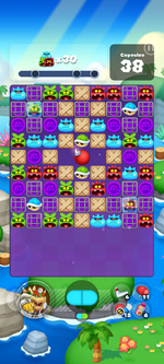 Stage 624 from Dr. Mario World