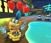 Larry Cup Challenge from Mario Kart Tour