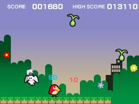 Pyoro (minigame) in WarioWare Gold