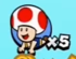 An early screenshot depcting Captain Toad beta icon, from Super Mario 3D World