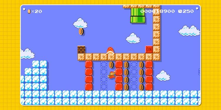 Picture shown with the third question in Super Mario Maker 2 Trivia Quiz