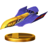 Falcon Flyer trophy from Super Smash Bros. for Wii U