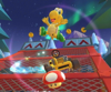 The icon of the Bowser Cup challenge from the 1st Anniversary Tour in Mario Kart Tour