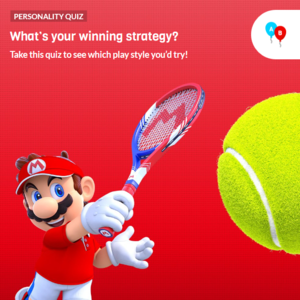 Icon for Mario Tennis Aces Characters Personality Quiz