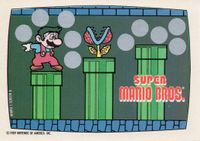 A Nintendo Game Pack scratch-off game card of Super Mario Bros. (Screen 6 of 10)