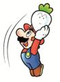 SMB2 Mario Throwing Vegetable Artwork.png