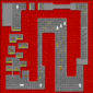 The map for Bowser Castle 3.