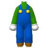"The ""Luigi Outfit"" Mii costume"