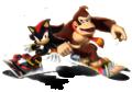 Shadow - Donkey Kong Artwork - Mario & Sonic Sochi 2014.png