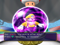 A Boo's Crystal Ball at a Boo House