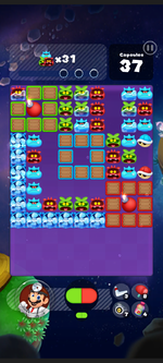 Stage 298 from Dr. Mario World