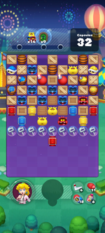 Stage 650 from Dr. Mario World