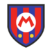 Mario's emblem from soccer from Mario Sports Superstars