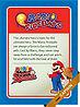 Level 3 Mario Fireballs card from the Mario Super Sluggers card game