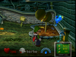 The Boneyard from Luigi's Mansion.