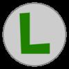 Luigi emblem from Mario Kart 8