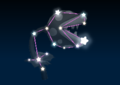 Piranha Plant's constellation in the game Mario Party 9.