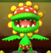 Petey Piranha as viewed in the Character Museum from Mario Party: Star Rush