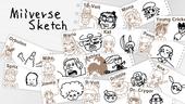 Miiverse Sketch title screen
