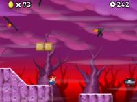 World 8-1 (New Super Mario Bros.) in the game New Super Mario Bros..