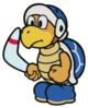 Boomerang Bro sprite from Paper Mario: Color Splash