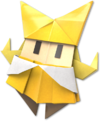 Artwork of Olivia from Paper Mario: The Origami King