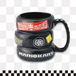 Mario Kart mug from Super Nintendo World