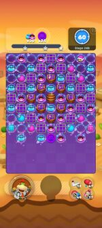 Stage 24B from Dr. Mario World