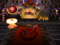 Frightmare's final phase in Mario Party 5