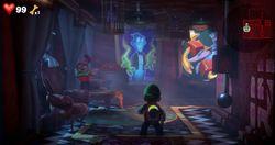 The Gallery in Luigi's Mansion 3