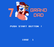 "The two forms of Mario derivative ""7 GRAND DAD"", both of which reference Fred Flintstone due to the character's origins in a Flintstones bootleg game. ""GRAND DAD"" is one of the most frequently-recurring elements on the SiIvaGunner music channel."