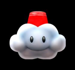 Snow Cloud from Mario Kart Arcade GP DX.