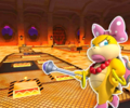 GBA Bowser's Castle 2 from Mario Kart Tour.