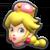 Peachette's icon from Mario Kart Tour.