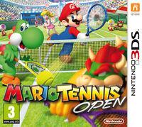 European boxart for Mario Tennis Open
