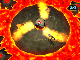 Revolving Fire from Mario Party 5