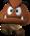 Artwork of a Goomba for New Super Mario Bros.