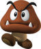 Artwork of a Goomba for New Super Mario Bros.